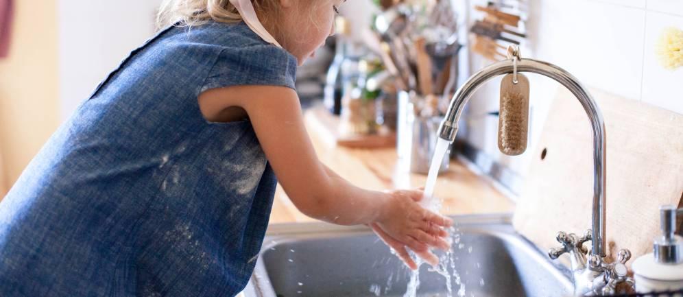 l'acqua del rubinetto e la sua importanza
